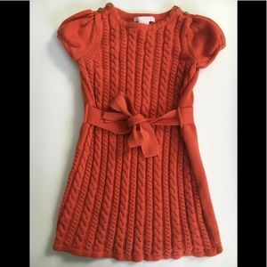 Janie and Jack 3T cable knit sweater dress